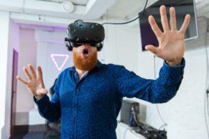 prezent dla bliskich zabawa w VR