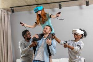 przewodnik VR dba o dobrą zabawę gości w trakcie imprezy